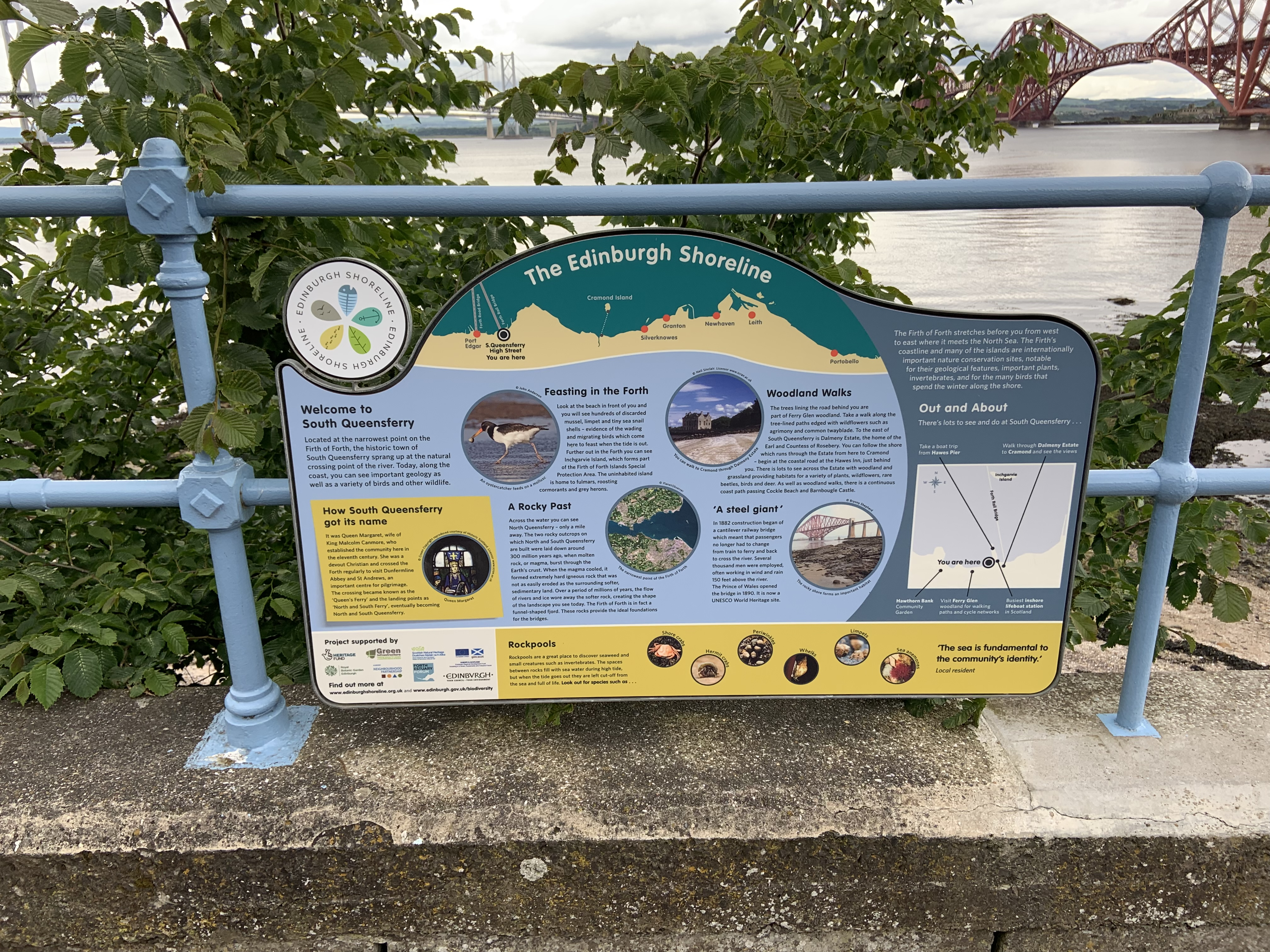 New sign South Queensferry